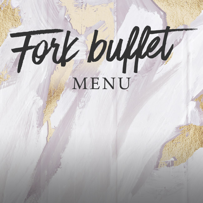 Fork buffet menu at The Ship Inn