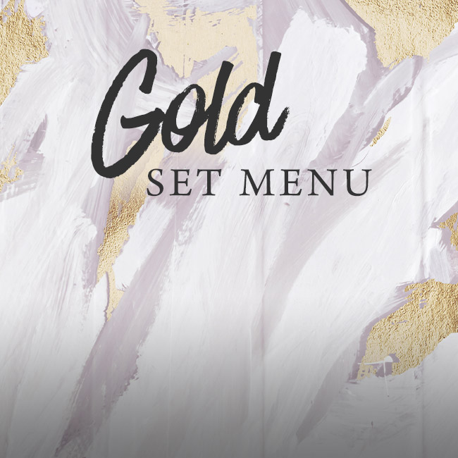 Gold set menu at The Ship Inn