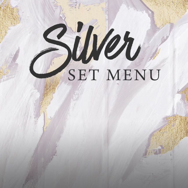 Silver set menu at The Ship Inn
