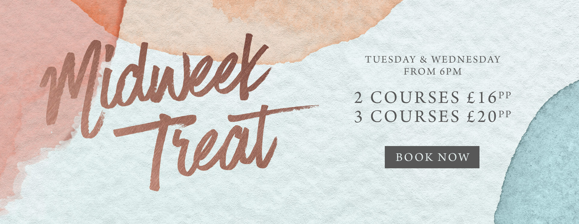 Midweek treat at The Ship Inn - Book now